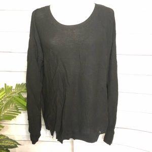 Victoria's Secret | Black Lightweight Sweater